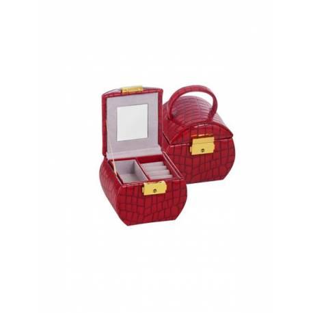 Червена кутия за бижута