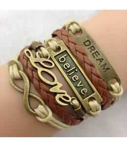 Brown bracelet Dream