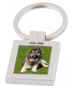 Ключодържател квадрат с Ваша снимка
