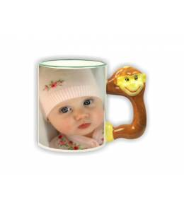 Monkey mug with your picture