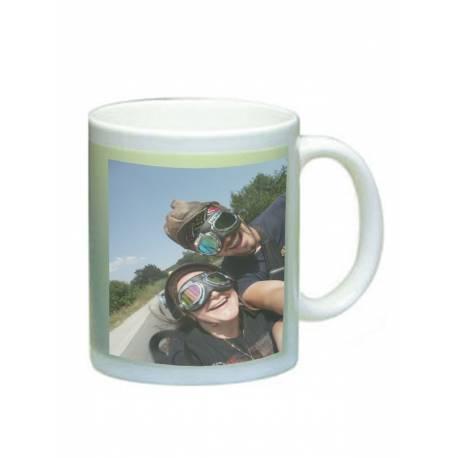 Фосфоресцираща чаша с Ваша снимка