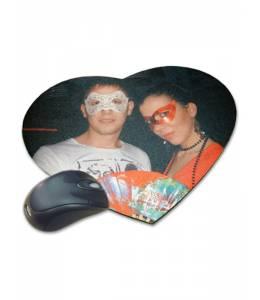 Подложка за мишка сърце с Ваша снимка