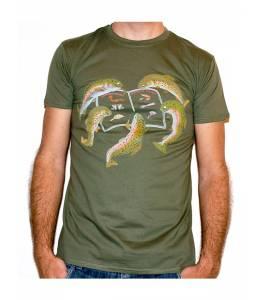 """Тениска """"Рибата гледа менюто"""""""