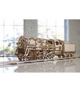 Пъзел локомотив с тендер