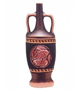 Бутилка червено вино със зодията