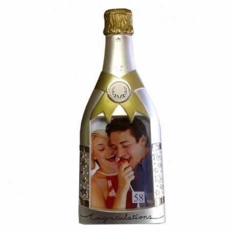Рамка с Ваша снимка бутилка шампанско