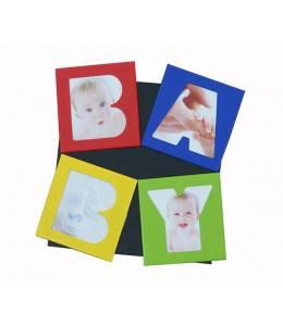 Рамка магнит с 4 снимки за бебе