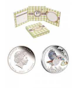 """Сребърна монета """"Новородени съкровища"""""""