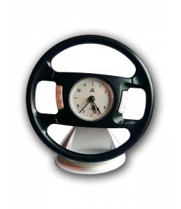 Alarm clock with the steering wheel