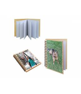 Notebook with your photo