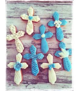 Cookies with cross shape