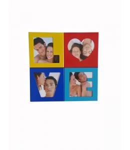 Рамка магнит с 4 Ваши снимки