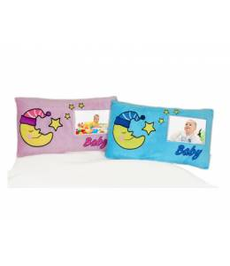 Baby pillow with photo