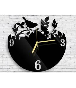 Стенен часовник с птиче или с цветя