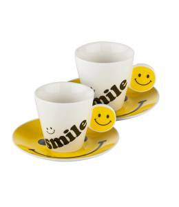 Set of 2 smile cups