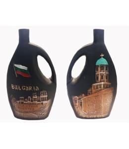 Керамична бутилка вино Пловдив