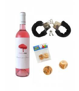 Вино, белезници и еротични зарчета