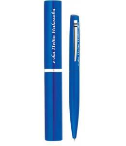 Гравирана химикалка с тубус