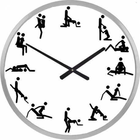 Wall Clock Kama Sutra