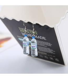Обици бутилка минерална вода