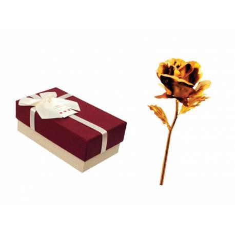 Златна роза в кутия - малка