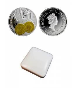 """Сребърна монета """"Виктория, богиня на победата"""""""