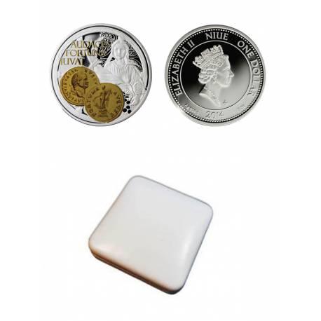 """Сребърна монета """"Фортуна-богинята на щастието"""""""