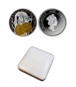 """Сребърна монета """"Хигия-богинята на здравето и красотата"""""""