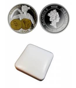 """Сребърна монета """"Диана-богинята на лова"""""""