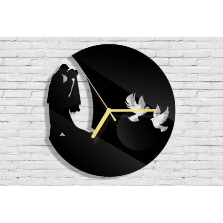 Часовник за сватба с дата и инициали