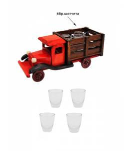 Камион с 4 шотчета