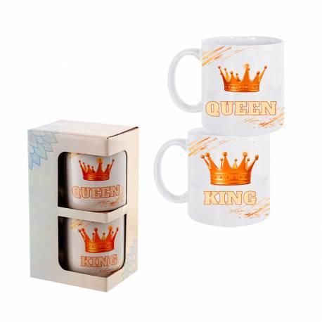 Комплект чаши крал и кралица