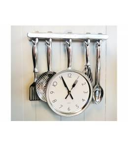 Часовник за кухня - с прибори