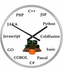 Часовник за програмисти